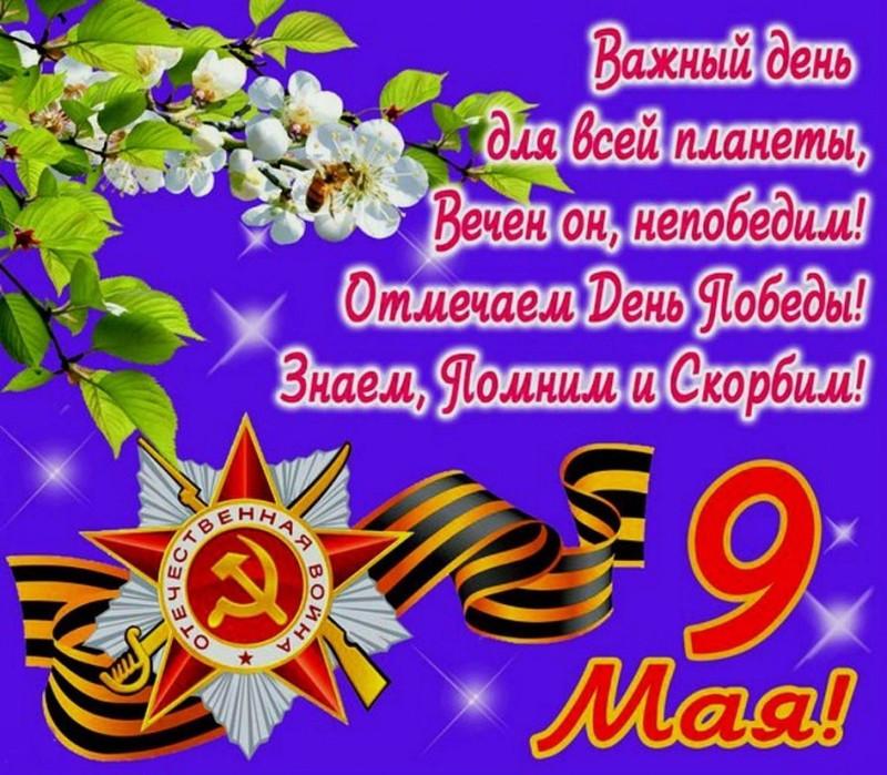 Важный день 9 Мая, 9 мая — День Победы