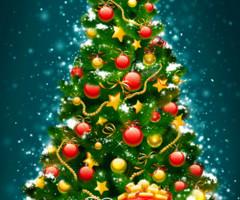 Картинки с новогодней елкой скачать бесплатно