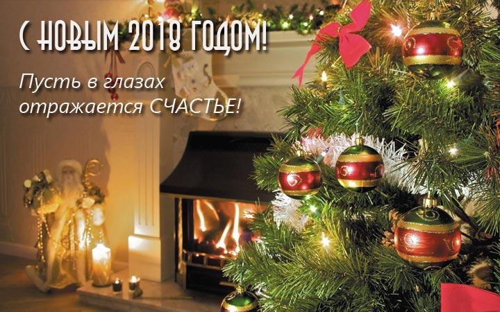 Счастья Вам в Новом 2018 году, С Новым годом 2019