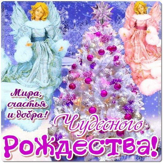 Желаю Чудесного Рождества, С Рождеством Христовым